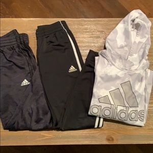 Lot of 3 Boys Adidas Items